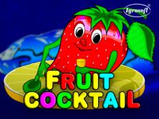 Игровой автомат Fruit Cocktail с призовым раундом и фриспинами